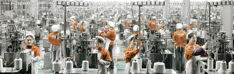 operaie cinesi
