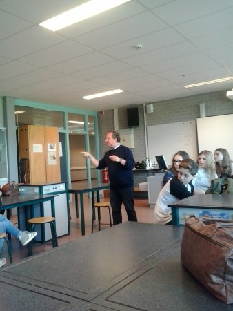 la lezione del Prof. Carelsen