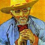 vincent_van_gogh, contadino_1888