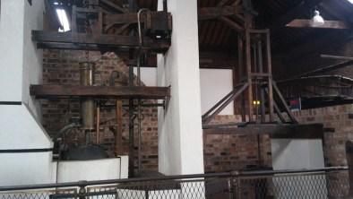 Manchester Museum of Industry and Science, Ricostruzione della prima pompa a vapore, 1712