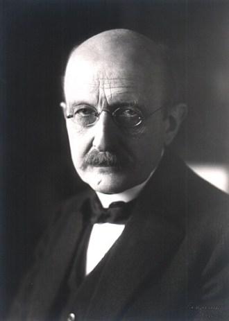 Portrait of Max Planck