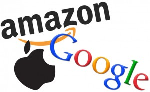 AmazonGoogleApple