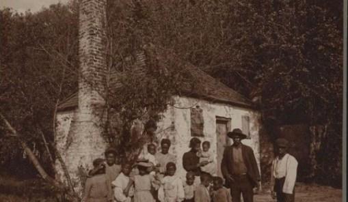 famiglia afroamericana Savannah 1907