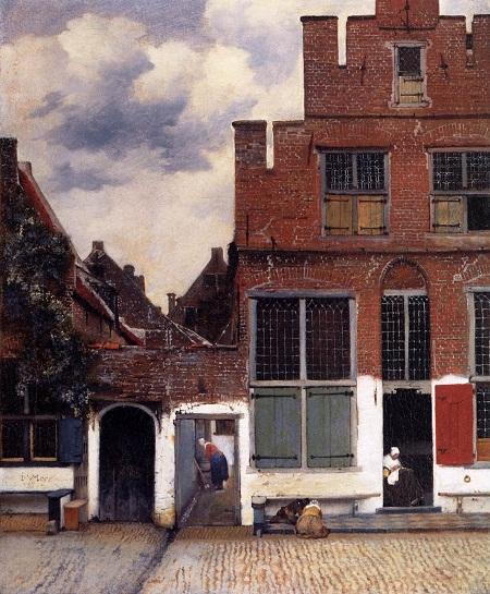 Vermeer, la stradina