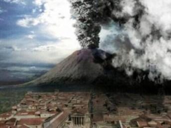 La distruzione di Pompei, Ercolano e Stabia del 24 agosto 79