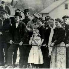 famiglie dei minatori