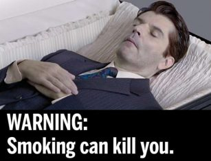 smoking can kill you
