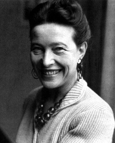 Simone de Beauvoir, Donna non si nasce, si diventa | ~ gabriella giudici