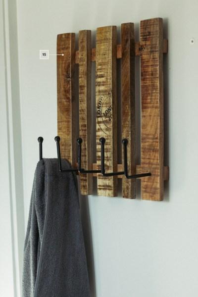 petite salle de bain - décoration - accessoire - porte serviette