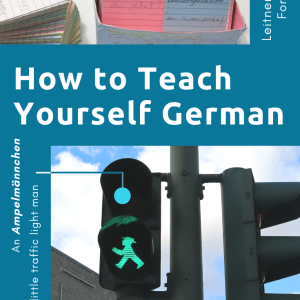 German, how to teach yourself for free