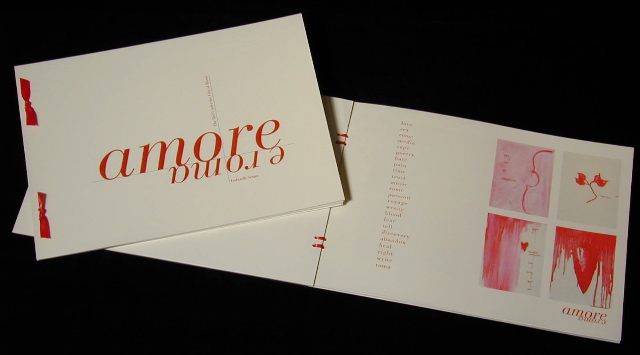 Amore e Roma, Artist Book by Gabrielle Senza © 1998