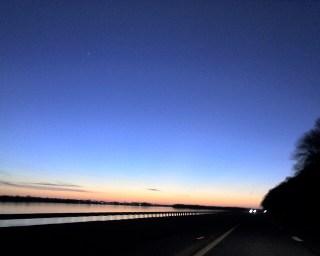 Driving to Principia - Photo by Gabriel