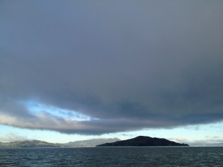 Angel Island - nice slick right next to it!