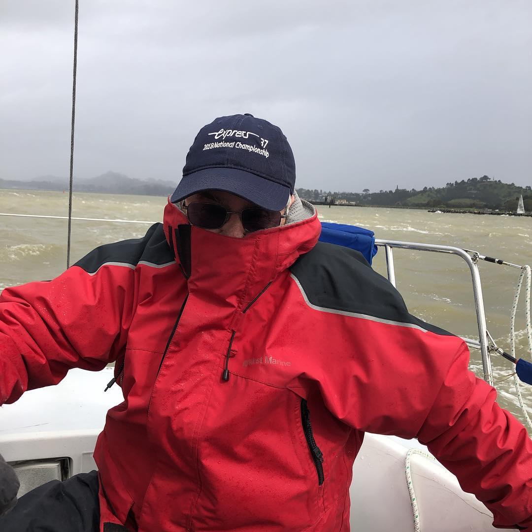 Ah springtime racing on the bay - 21kt rain and 6 boats in the Express 37 fleet for RYC Big Daddy day 1