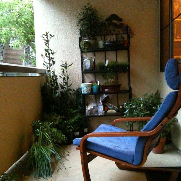 Aloha garden of peace chair in Oakland. Mahalo Rachel & Mark! :)