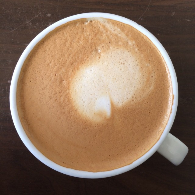 Another day, another latte.  Nothing like multiple convergent client deadlines to make life interesting!
