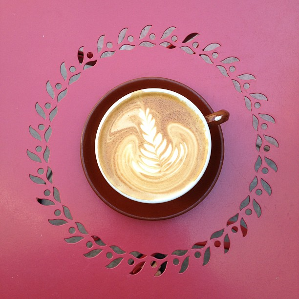 Beautiful day for a latte