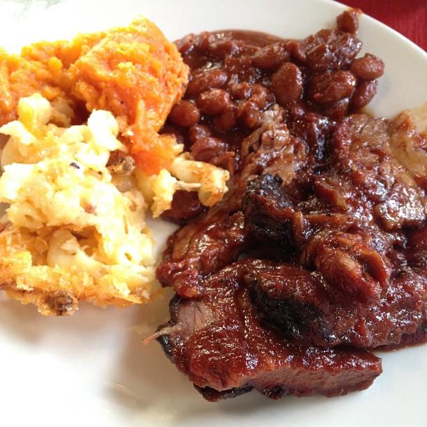 Beef brisket dinner nom