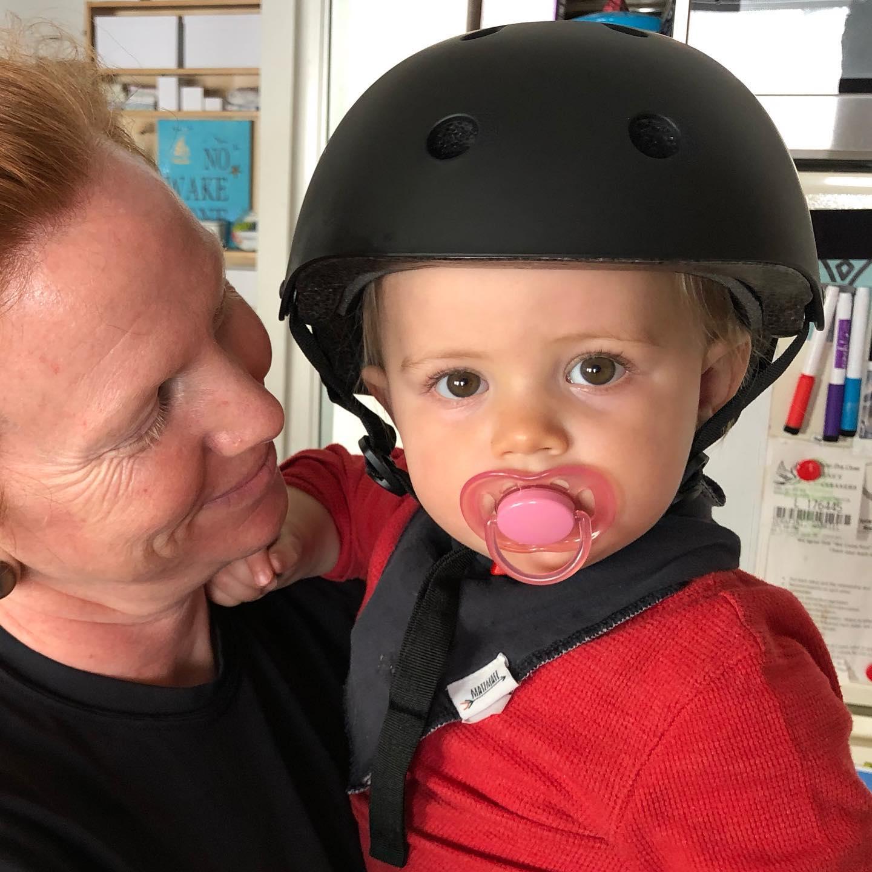 Daughter's first helmet :)