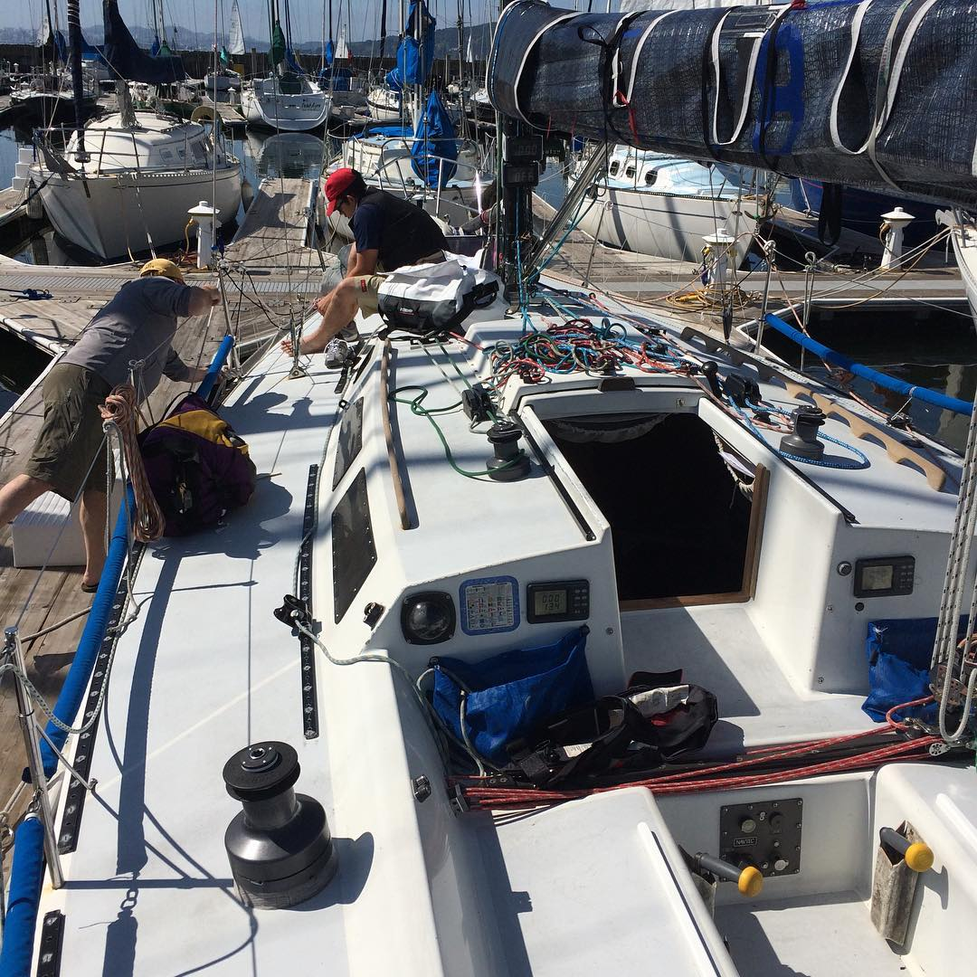 Day 2 of BYC Wheeler regatta. We got first place yesterday in our fleet and second overall