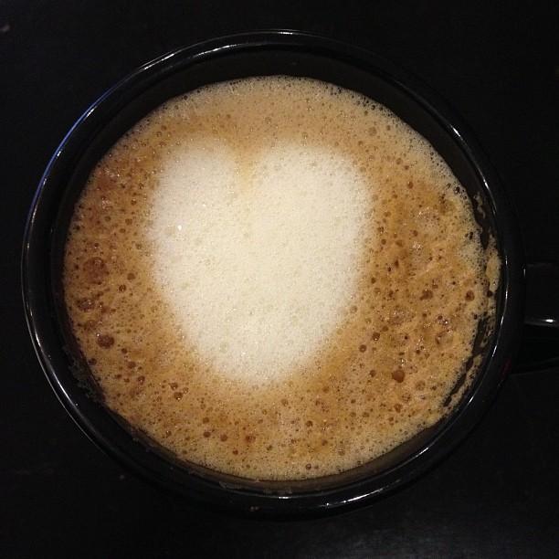 Eggnog latte nom