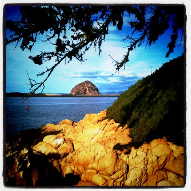 Famous Morro Rock