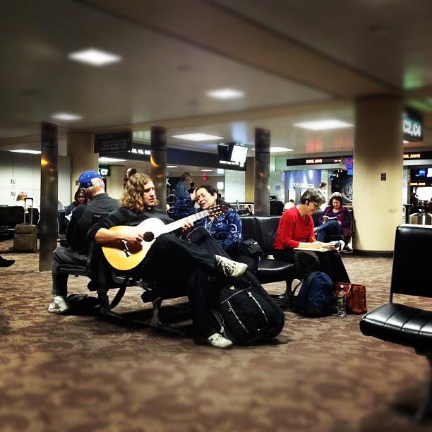 Playing Christmas songs aww :)