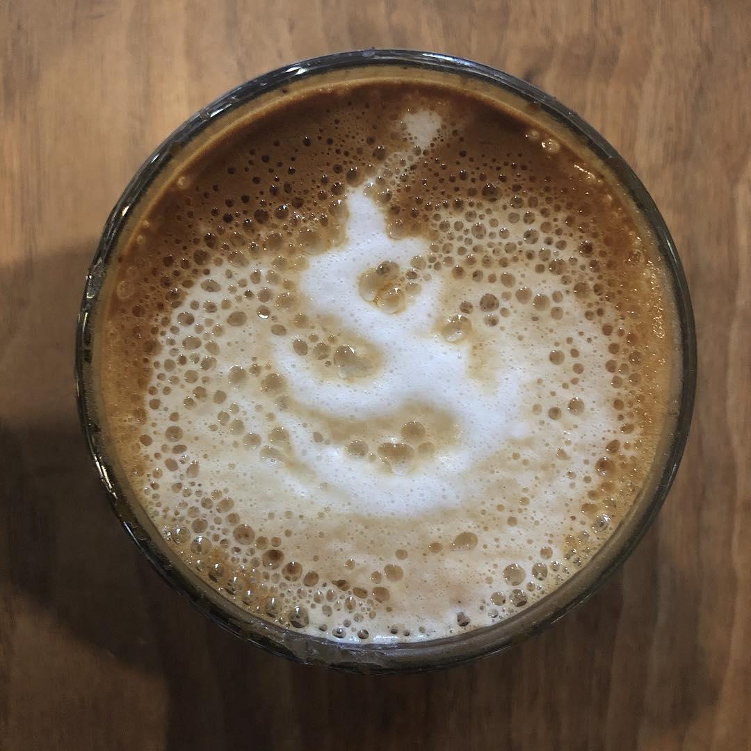 Sanskrit in my coffee?