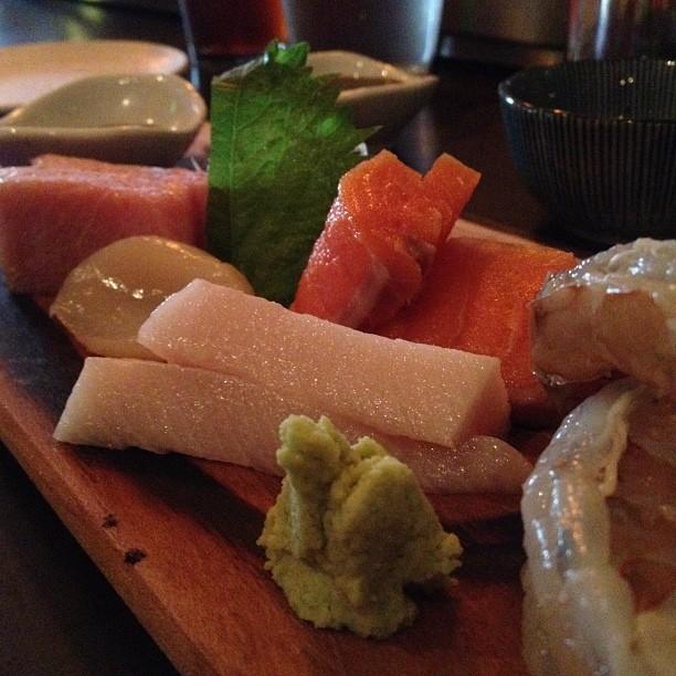 Sashimi omakase