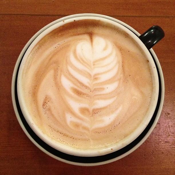 Sunday night work latte