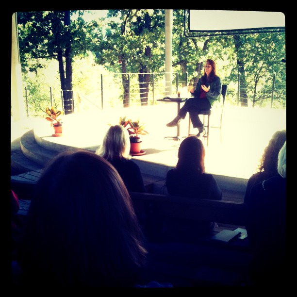 Susan Mack giving an excellent metaphysical talk at the CSNNetwork.org conference