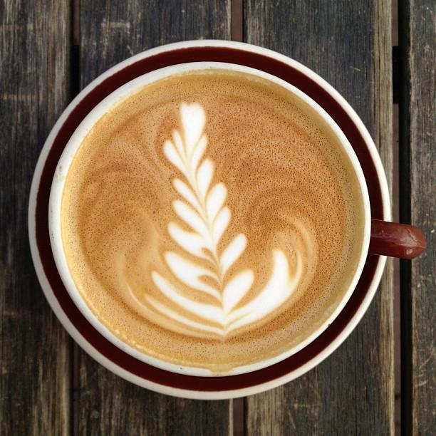 Warm day latte