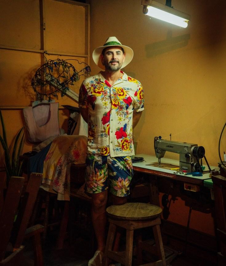 Retrato Diseñador Oscar Hernandez Toribio by Gabriel Solis