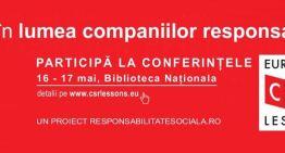 Prima zi la European CSR Lessons