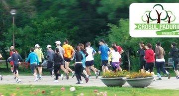 Antrenament oficial Dolce Sport pentru Crosul Padurii 2013