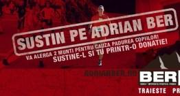 Îl susțin pe Adrian pentru terminarea celui mai lung ultra-maraton montan din România!