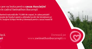 Vladimir Drăghia conduce Echipa Verde la Swimathon București