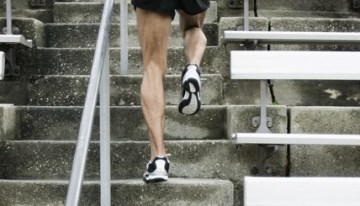 Voi alerga pe scari, multe scari :D