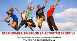 Studiu sociologic: Participarea tinerilor la activități sportive