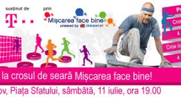 Ultimele zile de inscrierei la Crosul Miscarea face bine Brașov