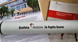 Ștafeta de fapte bune de la Holcim