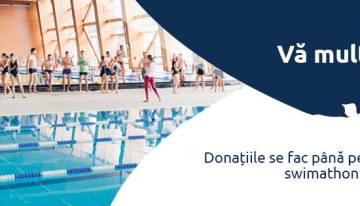Swimathon București 2016 – 250.000 lei and counting