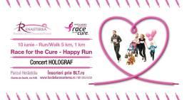 Sâmbătă vă invit la Race For The Cure Happy Run