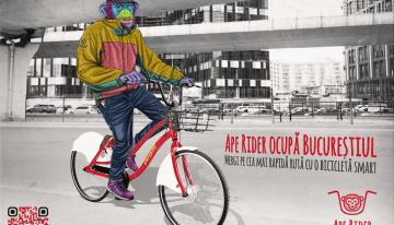 La pedalat cu Ape Rider
