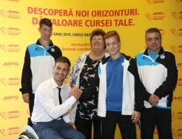 DHL Carpathian Marathon susține visurile sportivilor paralimpici români