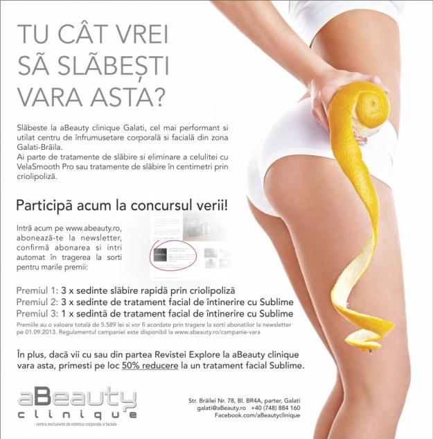 Concurs aBeauty clinique