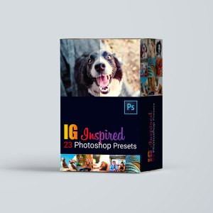 instagram photoshop presets