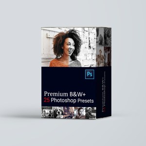 black white photoshop presets