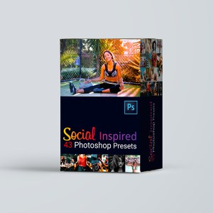 social media photoshop presets