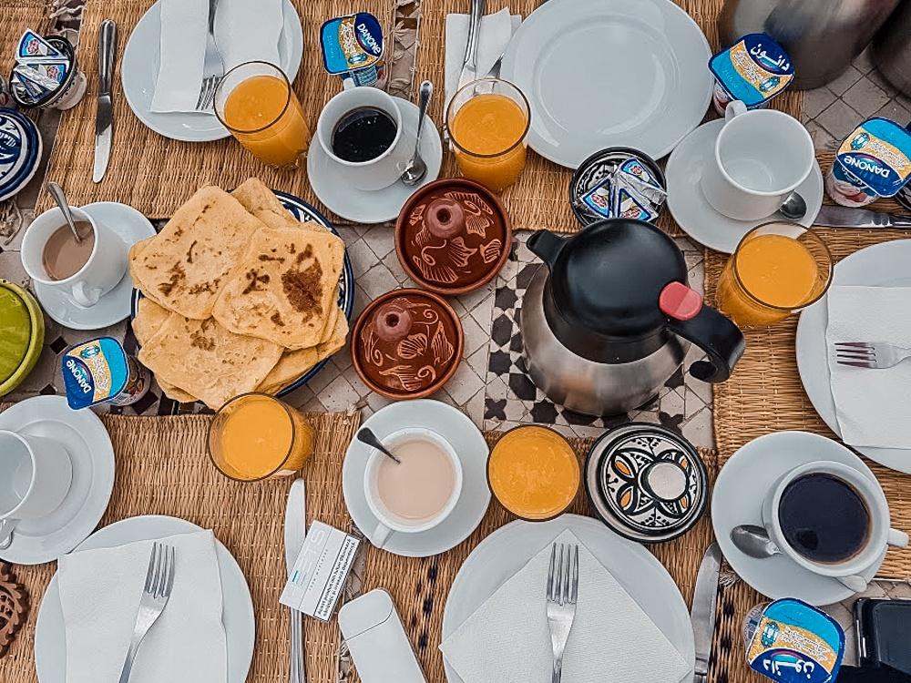 Mic dejun în Riad